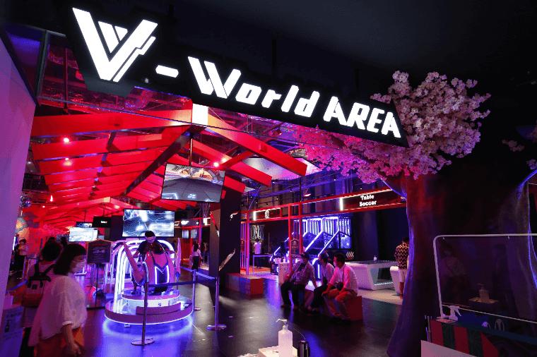 V-World AREA(ブイワールド エリアの体験画像2