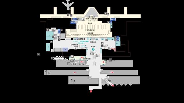 第3ターミナル2階