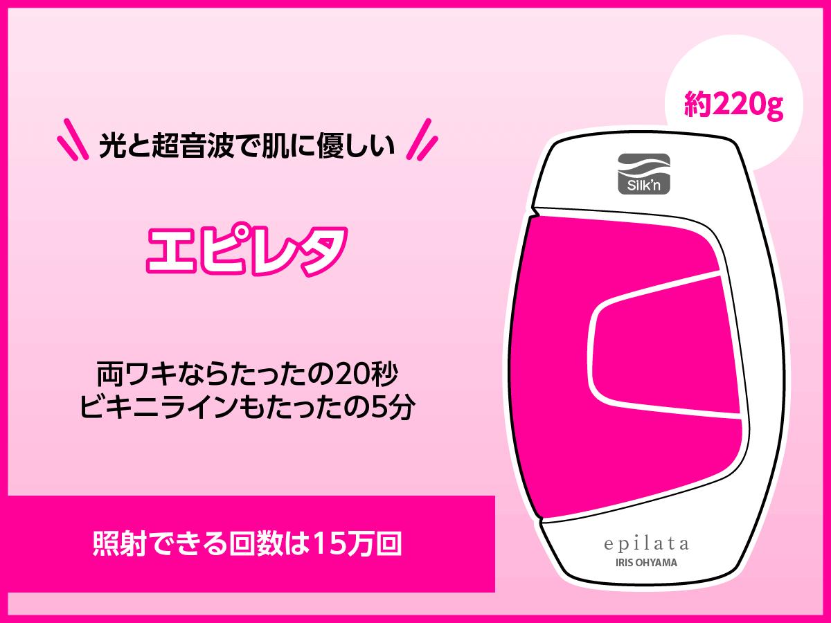 エピレタ/EP-0115(アイリスオーヤマ)