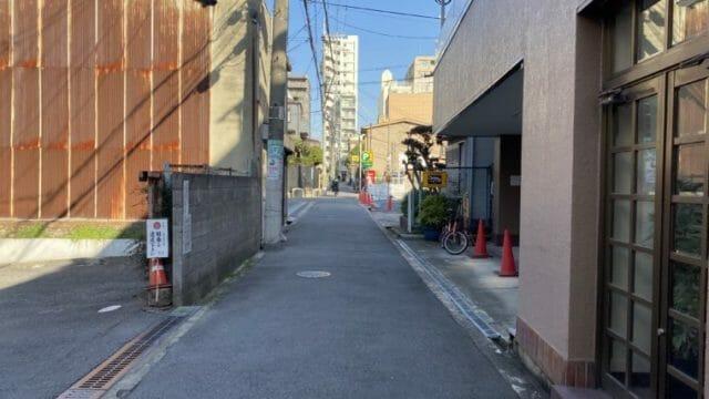空堀桃谷公園脇道4